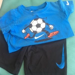 Nike shorts set